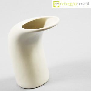 Parravicini Ceramiche, vaso bianco a becco (3)