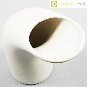 Parravicini Ceramiche, vaso bianco a becco (4)