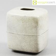 Tasca Ceramiche vaso squadrato A. Tasca