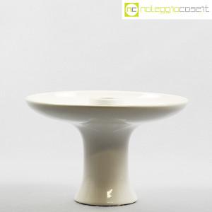 Ceramiche Brambilla, alzata in ceramica bianca, Angelo Mangiarotti (2)