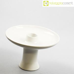 Ceramiche Brambilla, alzata in ceramica bianca, Angelo Mangiarotti (3)