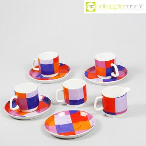 Ceramiche Franco Pozzi, set serie Compact, lattiera e tazzine, Ambrogio Pozzi (3)