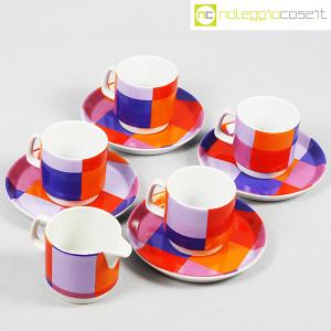 Ceramiche Franco Pozzi, set serie Compact, lattiera e tazzine, Ambrogio Pozzi (4)