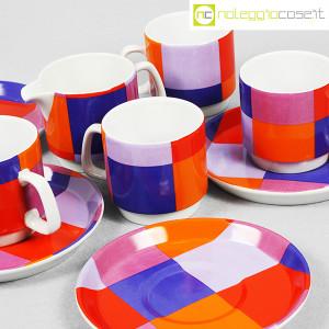 Ceramiche Franco Pozzi, set serie Compact, lattiera e tazzine, Ambrogio Pozzi (7)