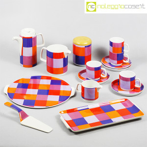 Ceramiche Franco Pozzi, set serie Compact, lattiera e tazzine, Ambrogio Pozzi (9)