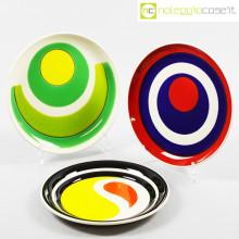 Mancioli Ceramiche piatti serie Beat set 02