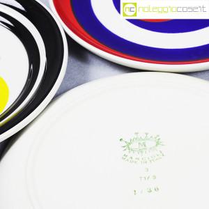 Mancioli Ceramiche, piatti serie Beat set 02, Giancarlo Casini (8)