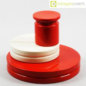 SIC Ceramiche Artistiche, set impilabile rosso e bianco (1)