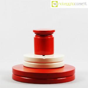 SIC Ceramiche Artistiche, set impilabile rosso e bianco (2)