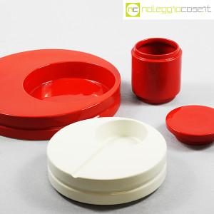 SIC Ceramiche Artistiche, set impilabile rosso e bianco (5)