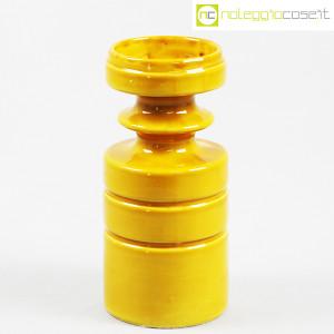 Viba Ceramiche, vaso sagomato giallo ocra (1)