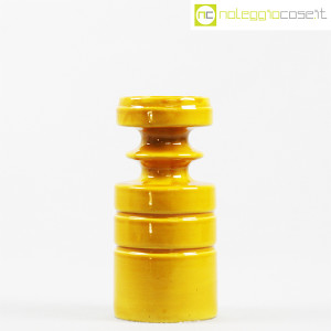 Viba Ceramiche, vaso sagomato giallo ocra (2)