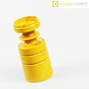 Viba Ceramiche, vaso sagomato giallo ocra (3)