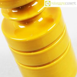 Viba Ceramiche, vaso sagomato giallo ocra (7)