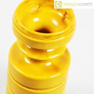 Viba Ceramiche, vaso sagomato giallo ocra (8)