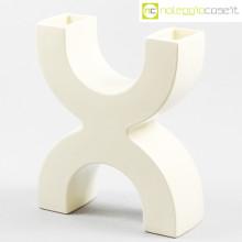 SICA Ceramiche vaso X bianco