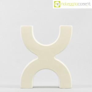 SICA Ceramiche, vaso X in ceramica bianco (2)