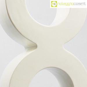 SICA Ceramiche, vaso X in ceramica bianco (5)