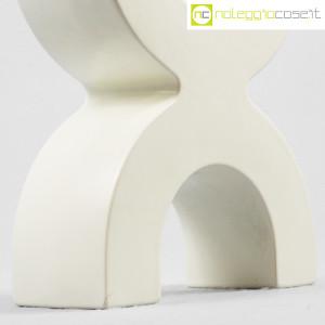SICA Ceramiche, vaso X in ceramica bianco (8)