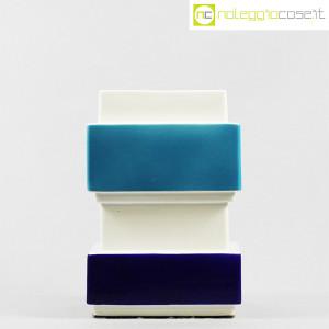 Vaso azzurro blu e bianco, Silvio Piano (2)