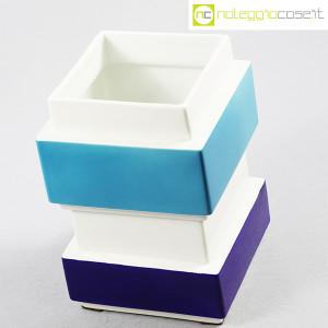 Vaso azzurro blu e bianco, Silvio Piano (4)