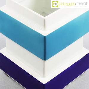 Vaso azzurro blu e bianco, Silvio Piano (5)