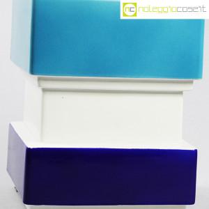 Vaso azzurro blu e bianco, Silvio Piano (7)