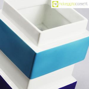 Vaso azzurro blu e bianco, Silvio Piano (8)