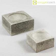 Centrotavola cemento grande e piccolo