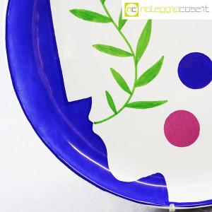 Ceramica Gatti Faenza, piatto Pensiero Effervescente, Mimmo Paladino (7)