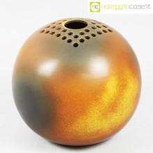 Ceramiche Bucci vaso sfera color terre