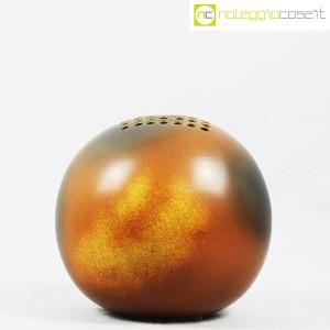 Ceramiche Bucci, grande vaso sfera color terre, Franco Bucci (2)