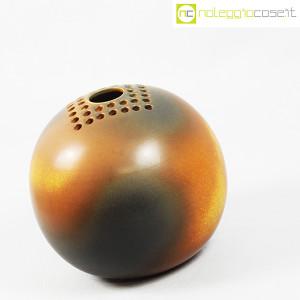 Ceramiche Bucci, grande vaso sfera color terre, Franco Bucci (3)