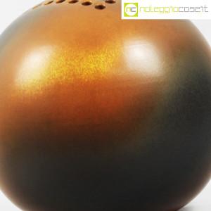 Ceramiche Bucci, grande vaso sfera color terre, Franco Bucci (5)