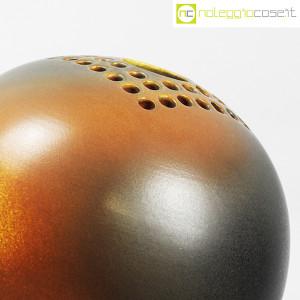 Ceramiche Bucci, grande vaso sfera color terre, Franco Bucci (6)