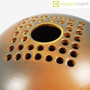 Ceramiche Bucci, grande vaso sfera color terre, Franco Bucci (8)