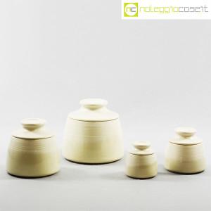 Ceramiche Bucci, set barattoli con tappo, Franco Bucci (1)