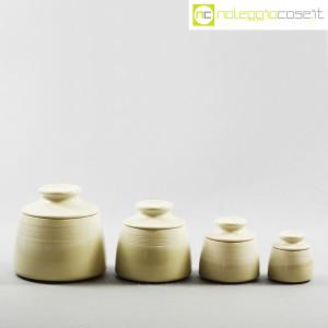 Ceramiche Bucci, set barattoli con tappo, Franco Bucci (2)