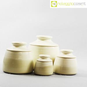 Ceramiche Bucci, set barattoli con tappo, Franco Bucci (3)