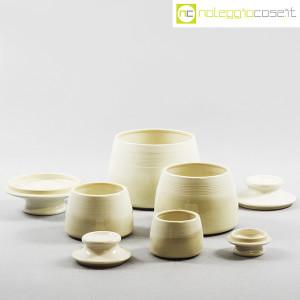 Ceramiche Bucci, set barattoli con tappo, Franco Bucci (5)
