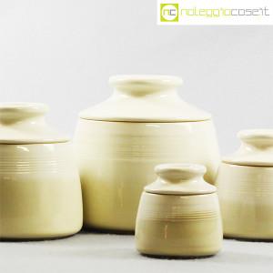 Ceramiche Bucci, set barattoli con tappo, Franco Bucci (6)