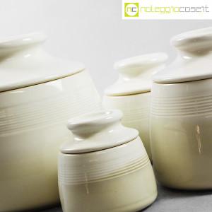 Ceramiche Bucci, set barattoli con tappo, Franco Bucci (7)