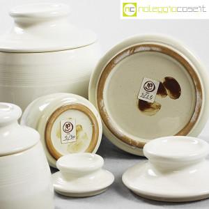 Ceramiche Bucci, set barattoli con tappo, Franco Bucci (9)