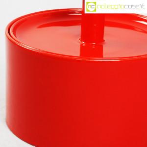 Ceramiche Franco Pozzi, biscottiera rossa con coperchio, Ambrogio Pozzi (8)