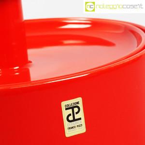 Ceramiche Franco Pozzi, biscottiera rossa con coperchio, Ambrogio Pozzi (9)