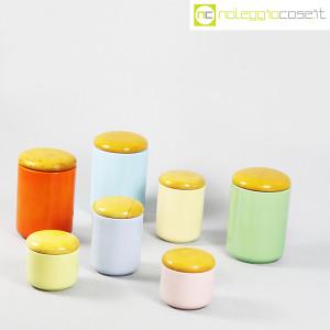 Ceramiche Franco Pozzi, set barattoli color pastello, Ambrogio Pozzi (3)