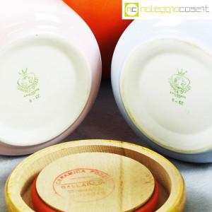 Ceramiche Franco Pozzi, set barattoli color pastello, Ambrogio Pozzi (9)