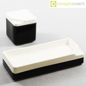 Gedy, contenitori in ceramica bianco nero, Makio Hasuike (1)