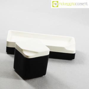 Gedy, contenitori in ceramica bianco nero, Makio Hasuike (3)