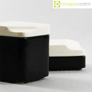 Gedy, contenitori in ceramica bianco nero, Makio Hasuike (6)